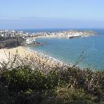 on our way to st ives.. superb view!