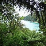 The walk along the Abel Tasman coast