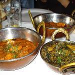 Eastern Eye Balti House - curry e aloo palak