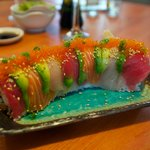 rainbow roll...what a meal !!!
