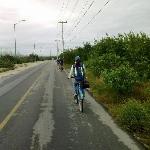 visita a puerto morelos en bicicletas