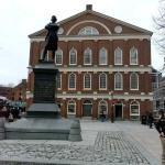 Faneuil Hall and Samuel Adams