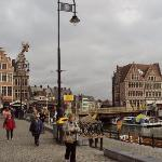 Korenlei and Grasbrug, Ghent