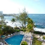 View from the 3rd Floor Balcony, Condado Plaza, San Juan