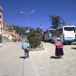 Autobuses en Copacabana