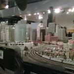 Interactive Model Train Exhibit