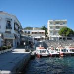 Spetses harbor