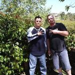 ME & KEVIN JUNG AT THE WILD ANIMAL ZOO IN SAN DIEGO !1