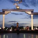 Independence Square in Tashkent.