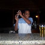 Melad at pool bar. Best barman!