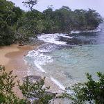 plage vue de la terrasse