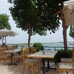 Buffetrestaurant hotel near lagune