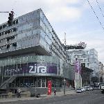 Aussenansicht Hotel Zira