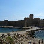 La Castella, Calabria - postavená proti pirátom, ale neodolala hneď prvému útoku..lepšie foto ne
