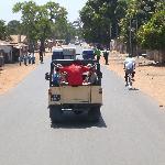 Jeep travel on good roads