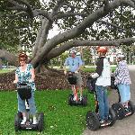 Segway group in Balboa Park. (and Justin rocks!)