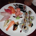 Sushi Deluxe, delighted!!!!
