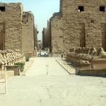 Avenue of the Sphinx's@ Luxor