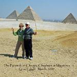 Bilde fra Giza-platået