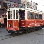 Istiklal Caddesi tram