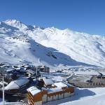 The beautiful Val Thorens