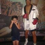 Muhammed Ali and my brother.