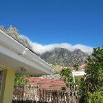 View of Table Mountain from our balcony