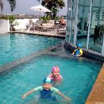 my kids likes the roof taft  swimming pool