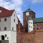 Darłowo - castle - general view