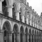 Building at Parque de Central, Antigua