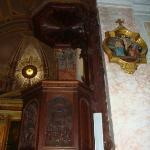 Inside St Peter's church in Jaffa.