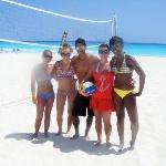Beach volleyball with Paco!