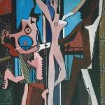 """Picasso's """"3 Dancers"""". 1925- I have always been fascinated with the personal sordid affairs of P"""