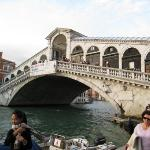 The Rialto Bridge. This visit just wasn't the same without Alma Lee there...