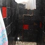 One of the two showers