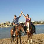 a trip on horses