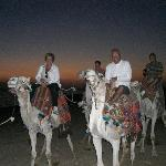 setting off to watch sunrise egyptian style