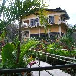 Main house from our bungalow