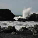 Black Sand Beach - More Waves