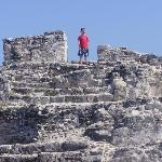 Mayan ruins you can climb