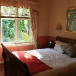 bedroom & garden view
