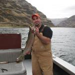 Steelhead fishing in Hells Canyon.