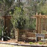 Herb Garden Entrance