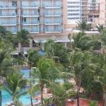 The Mariott Resort right next to our condo