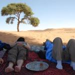 It was another tough afternoon in the Sahara.