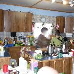 Kitchen was entertaining...