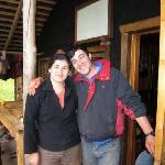 Mountain lodge hosts Tatiana & Horacio