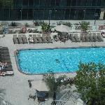Outdoor pool on 5th floor