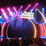 Nathn Burton Stage setup before show