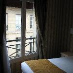Window that overlooked Rue Sainte Anne
